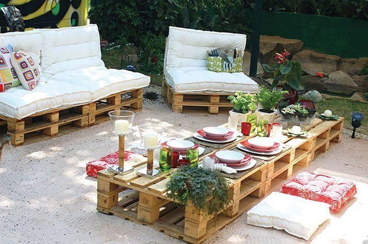 Decoracion con palets multihogar alicante - Palets decoracion jardin ...