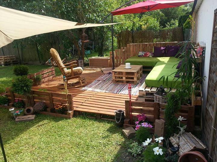 Muebles palets multihogar alicante - Palets decoracion jardin ...